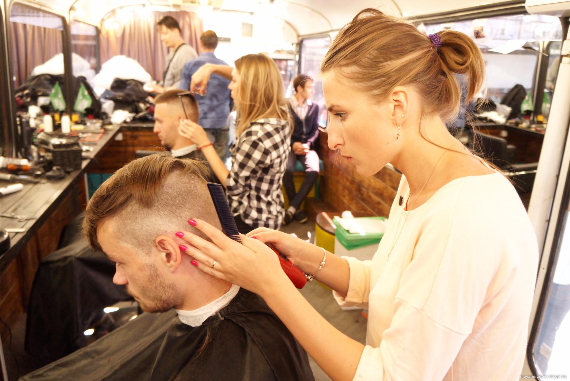 Прическа парикмахерская минск