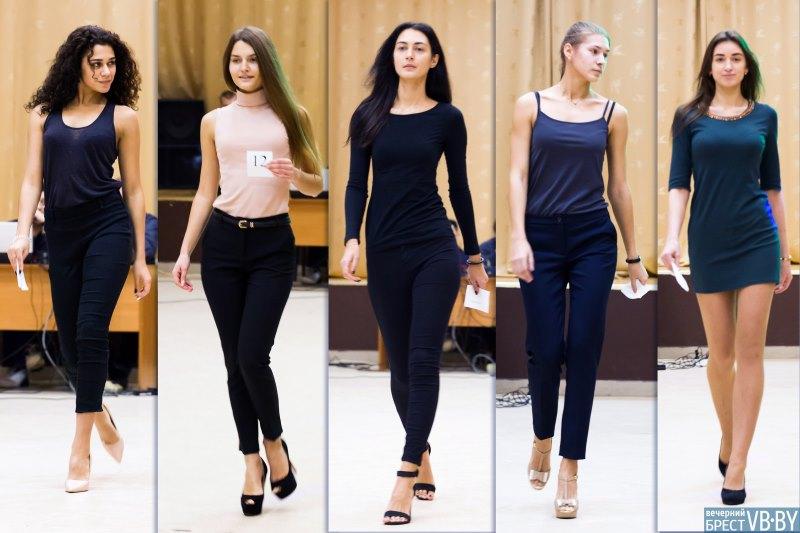 Кастинг девушек для конкурса красоты