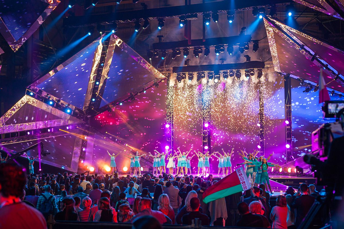 ВТбилиси началась церемония открытия детского Евровидения