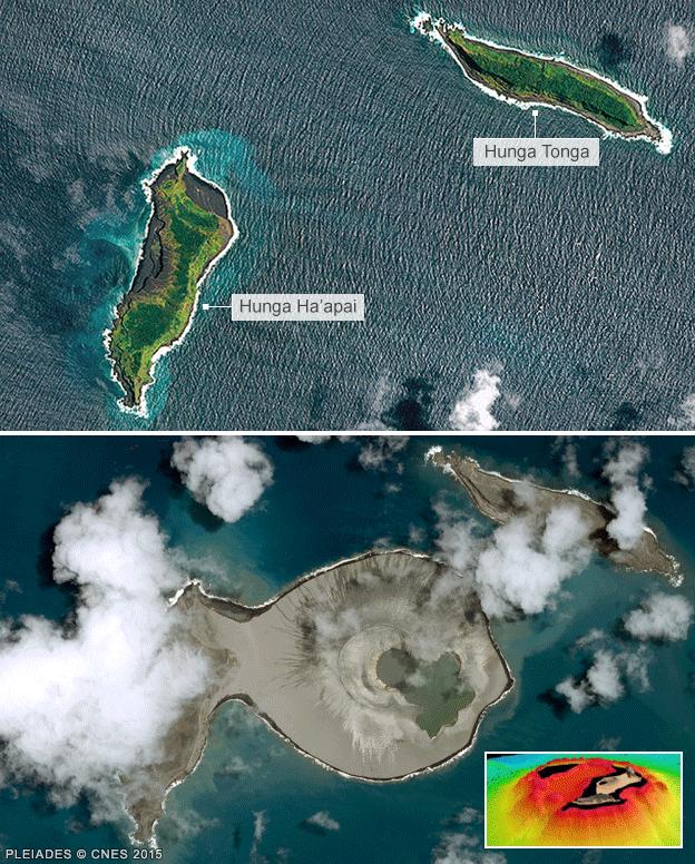 Тихоокеанский остров является естественной лабораторией для исследования Марса