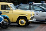80-летие ГАИ отметили в Бресте парадом и выставкой ретроавтомобилей