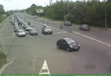 Из-за временного закрытия пункта пропуска «Домачево» огромная очередь возникла на «Варшавском мосту»