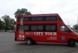 Появились фотографии нового брестского туристического автобуса «Brest City Tour»