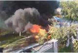 В Бресте в результате неудачной заправки хозяин автомобиля получил ожоги рук и ног (видео)