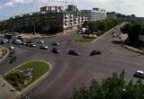9 августа в Бресте на перекрестке Бульвар Космонавтов-Машерова произошло ДТП с участием 4 авто (видео)