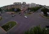 13 августа на перекрестке бульвар Космонавтов-Машерова произошла очередная авария (видео)
