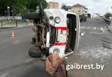 В Брестской области произошло ДТП с участием скорой помощи