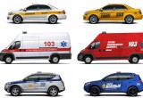 Житель Брестской области придумал новый дизайн оформления автомобилей скорой, милиции и такси