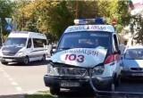 26 августа в Бресте произошла авария с участием автомобиля скорой
