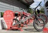 В Бресте состоялось торжественное открытие двух новых велосипедных парковок