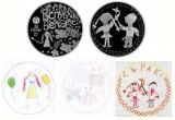В Беларуси входят в обращение монеты с детскими рисунками