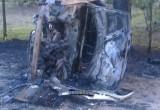 В Брестском районе сгорела Audi