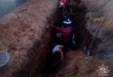 В Брестской области студента засыпало землей