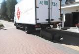 В Брестской области водитель грузовика сбил памятник Суворову