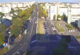 Водитель Audi пытался «учить» автобус в Бресте (видео с 2 ракурсов)