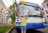 В Бресте прошел «Модный четверг», посвященный юбилею троллейбусного парка