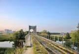 После реконструкции бывшего железнодорожного моста в Красном Дворе он станет пешеходным