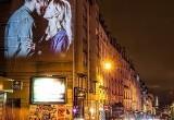Ожившие поцелуи на стенах романтичного Парижа