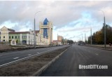 Движение по проспекту Машерова в сторону крепости в Бресте открыто