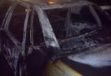 В Бресте на парковке сгорели 2 автомобиля