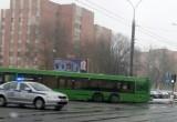 В Бресте под автобус попала женщина, пересекавшая дорогу на красный свет