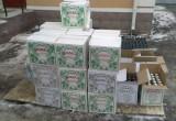 У брестчанина конфисковали более 400 литров водки