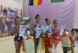 Юные брестские гимнастки вернулись из Польши с медалями