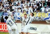 Марш болельщиков «Динамо» и уверенная победа команды в последней игре сезона