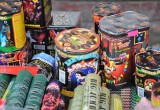 За один день в трех районах Брестской области было изъято больше 1000 единиц пиротехники