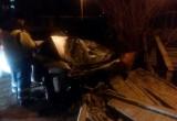 Пьяный водитель снёс ограждение в тупике на Пушкинской