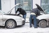 Брестским автолюбителям: как правильно заводить машину в мороз