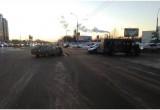 В Бресте произошла авария с участием маршрутного такси