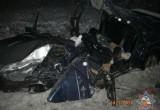 Отец и сын оказались зажатыми в автомобиле после ДТП в Бресте