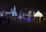 Демонтаж елок и новогодней иллюминации в Бресте начнется сразу после Крещения