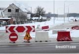 В Бресте в связи со строительством нового микрорайона закрыли поворот с Суворова на Луцкую