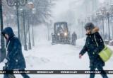 В Бресте за ночь выпала треть декадной нормы снега, за утро – 17 ДТП. Введен план «Погода»