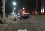 В центре Бреста произошло крупное ДТП (обновлено)