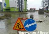 На 2 недели частично перекрыта улица Красногвардейская в Бресте