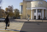 В Бресте закрыли пешеходный переход на улице Ленина