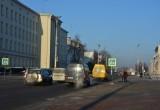 В Бресте на Ленина собираются установить съемный светофор с кнопкой и светящуюся плитку