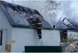 В Брестском районе (деревня Прилуки) сгорел жилой дом