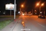 На Московской в Бресте автомобиль сбил нетрезвого велосипедиста