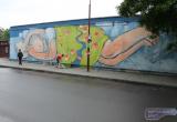 В Бресте появился новый масштабный стрит-арт