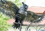 В центр Бреста вернули сову и будку с бульдогом