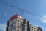 Вандалы в центре Бреста испортили плакат МТС