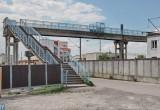В Бресте начался ремонт пешеходного железнодорожного моста