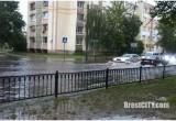 В Бресте утром 28 июня выпала половина месячной нормы осадков