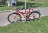 В Бресте на Вульке водитель Opel сбил двоих детей, ехавших на велосипеде