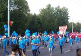 В Бресте по проспекту Машерова прошёл зажигательный карнавал