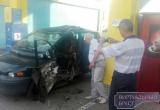 Утром 18 августа в Бресте на заправке у легкового автомобиля взорвался баллон. Водитель скрылся (обновлено!)